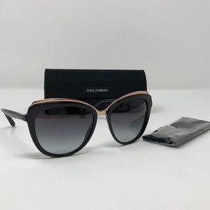 6b93ec4e4f5 Dolce   Gabbana Accessories - Dolce   Gabbana DG 4304 501 8G Black Cat-